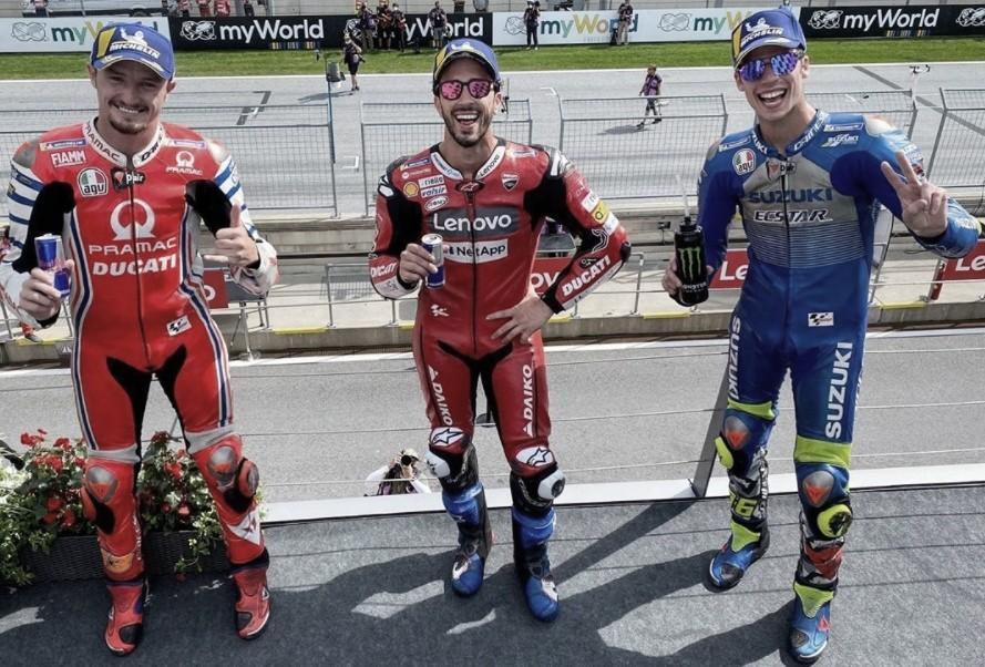 Ducati gana por quinta vez consecutiva en Austria