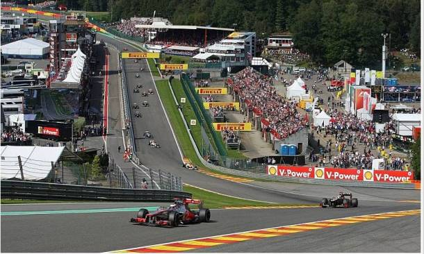 Descubre el GP de Bélgica de Fórmula 1 2013