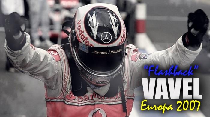 Flashback GP Europa 2007: Alonso reina bajo la lluvia