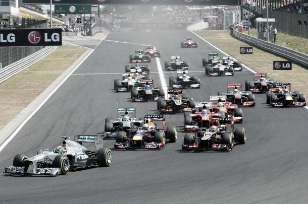 En route pour le GP de Hongrie