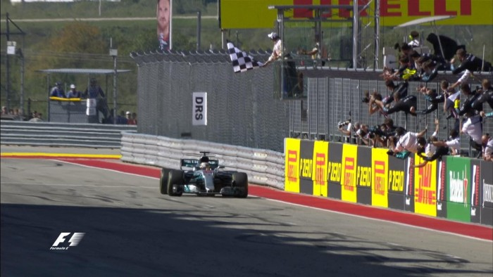 Gp Usa: Hamilton re libere, Vettel terzo