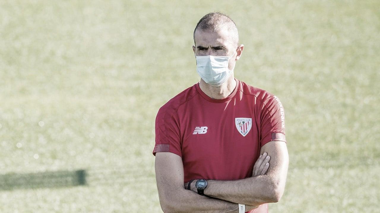 """Garitano: """"Va a ser complicado por lo que se juega el rival"""""""