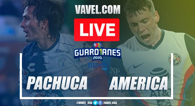 Goals and Highlights: Pachuca 1-2 América, 2020 Liga MX