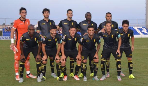 Victoria del Granada CF ante el Albacete