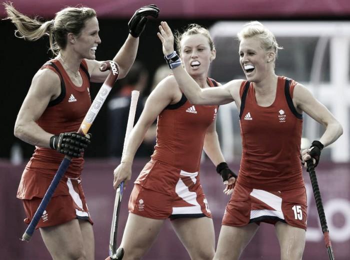 Grã-Bretanha vence Austrália e demonstra força como candidata no hóquei feminino