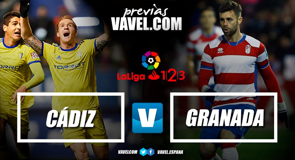 Previa Cádiz CF - Granada CF: en la búsqueda de la primera victoria del año