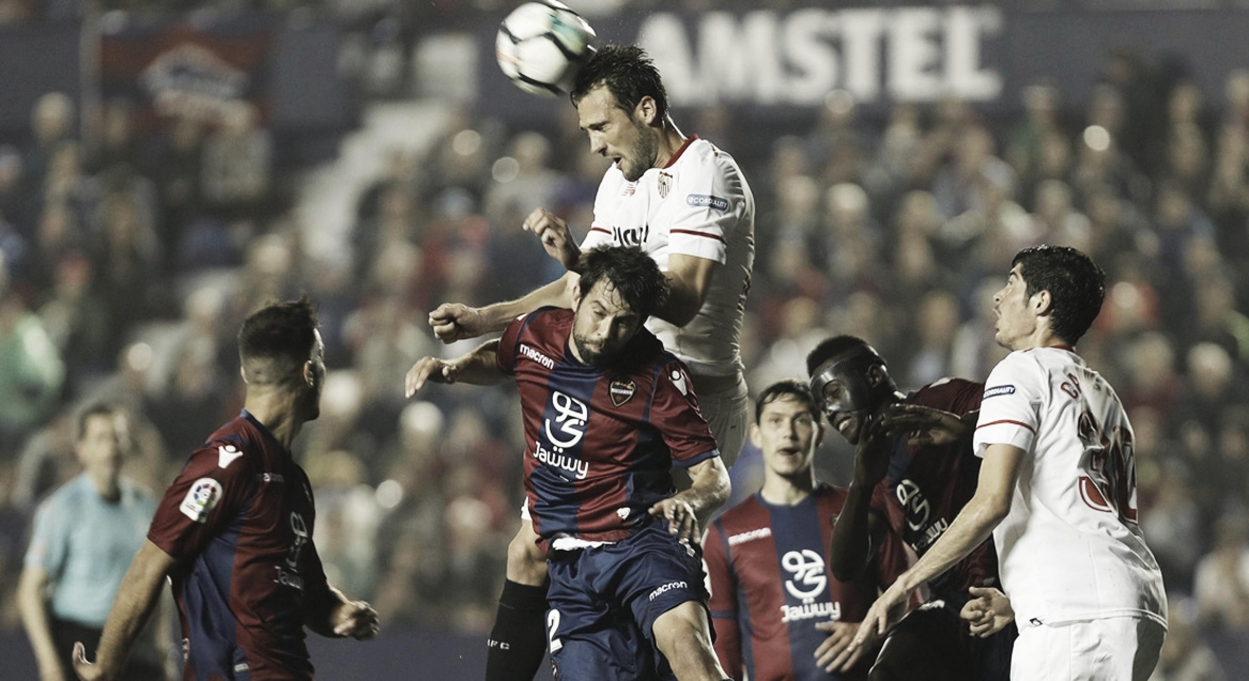 Resumen del Levante UD - Sevilla FC en LaLiga Santander 2018 (2-6)