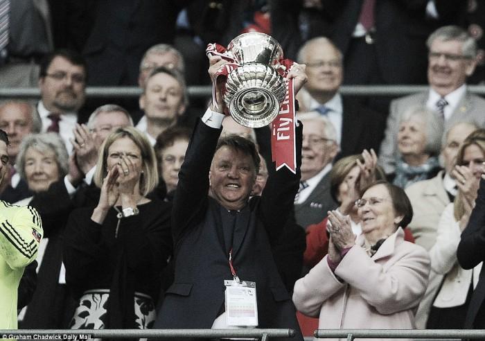 """FA Cup victory was """"unbelievable,"""" says Louis van Gaal"""