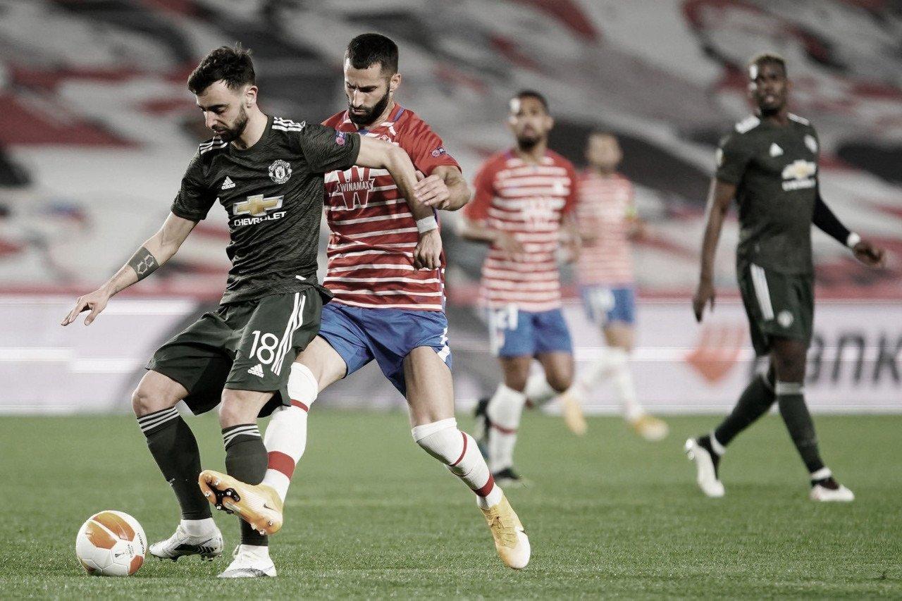 Manchester United vence Granada fora de casa e encaminha classificação na Europa League