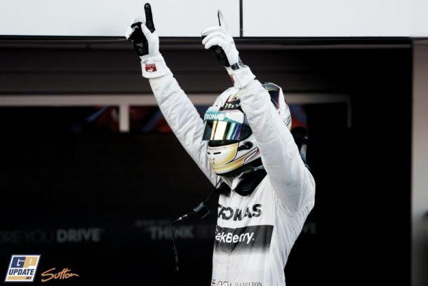 La novena sinfonía de Lewis Hamilton