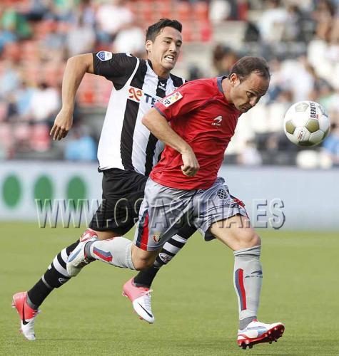 Osasuna se impone al Heracles en su último encuentro en Holanda