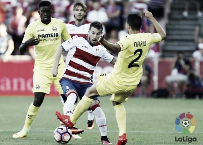 Na abertura da La Liga, Granada e Villarreal ficam somente no empate