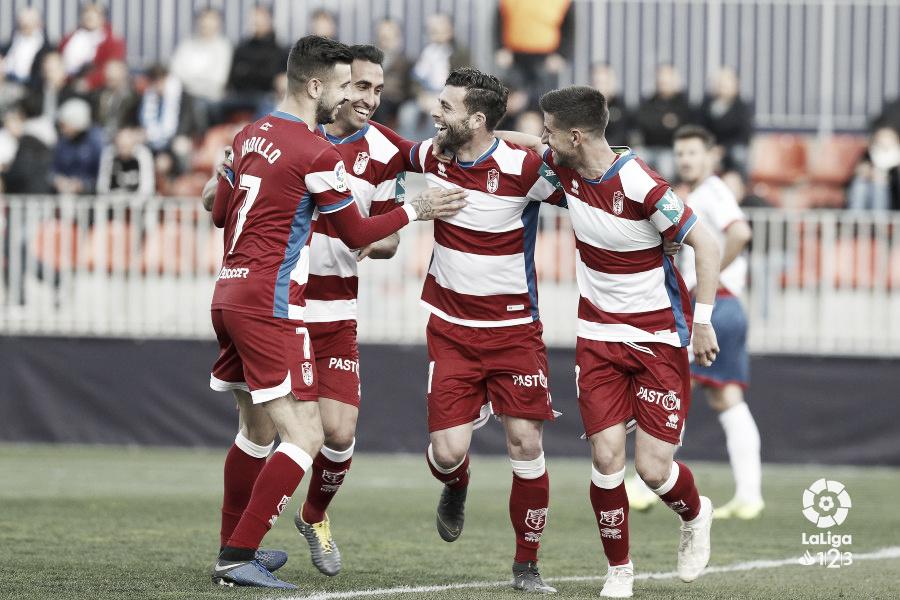 El Granada buscará seguir arriba frente al Real Zaragoza
