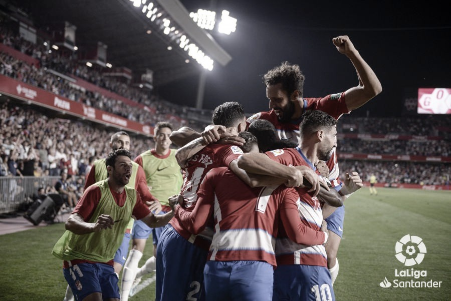 El Granada tiene más victorias historicamente contra el pucela por muy poco