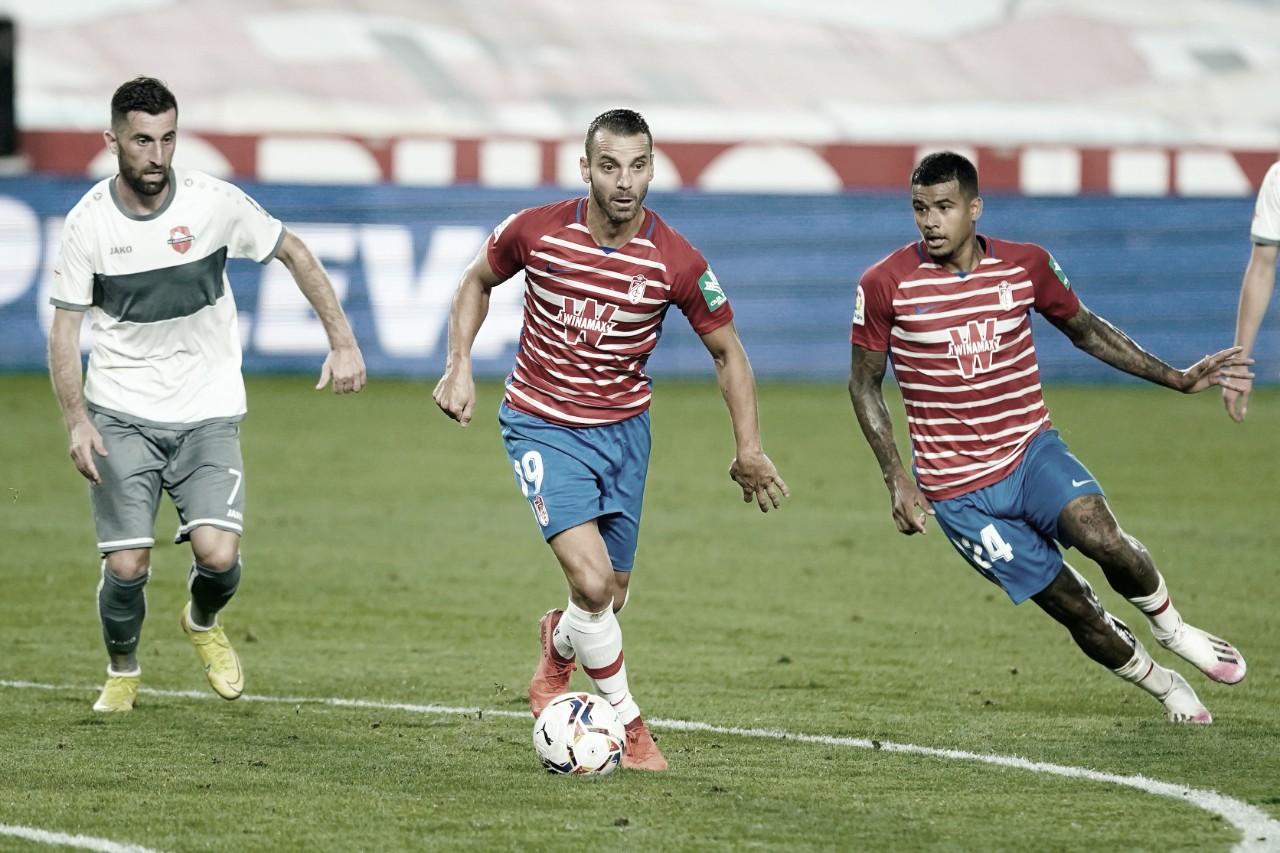 Granada domina Lokomotiv Tbilisi e avança na Liga Europa