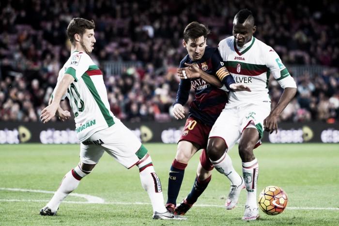 FC Barcelona – Granada CF, abonados a las goleadas