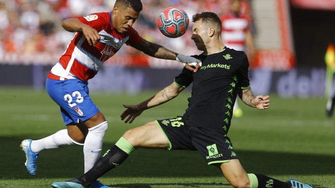 Previa Granada CF - Real Betis: derbi para recuperar la línea a seguir