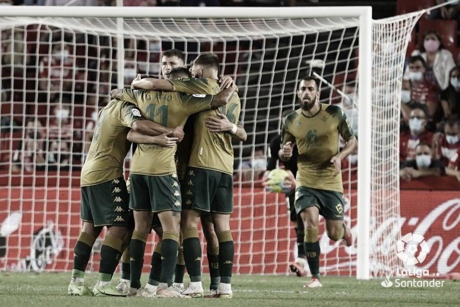 Real Betis Balompié - Granada: puntuaciones del Real Betis, 5ª jornada de LaLiga Santander