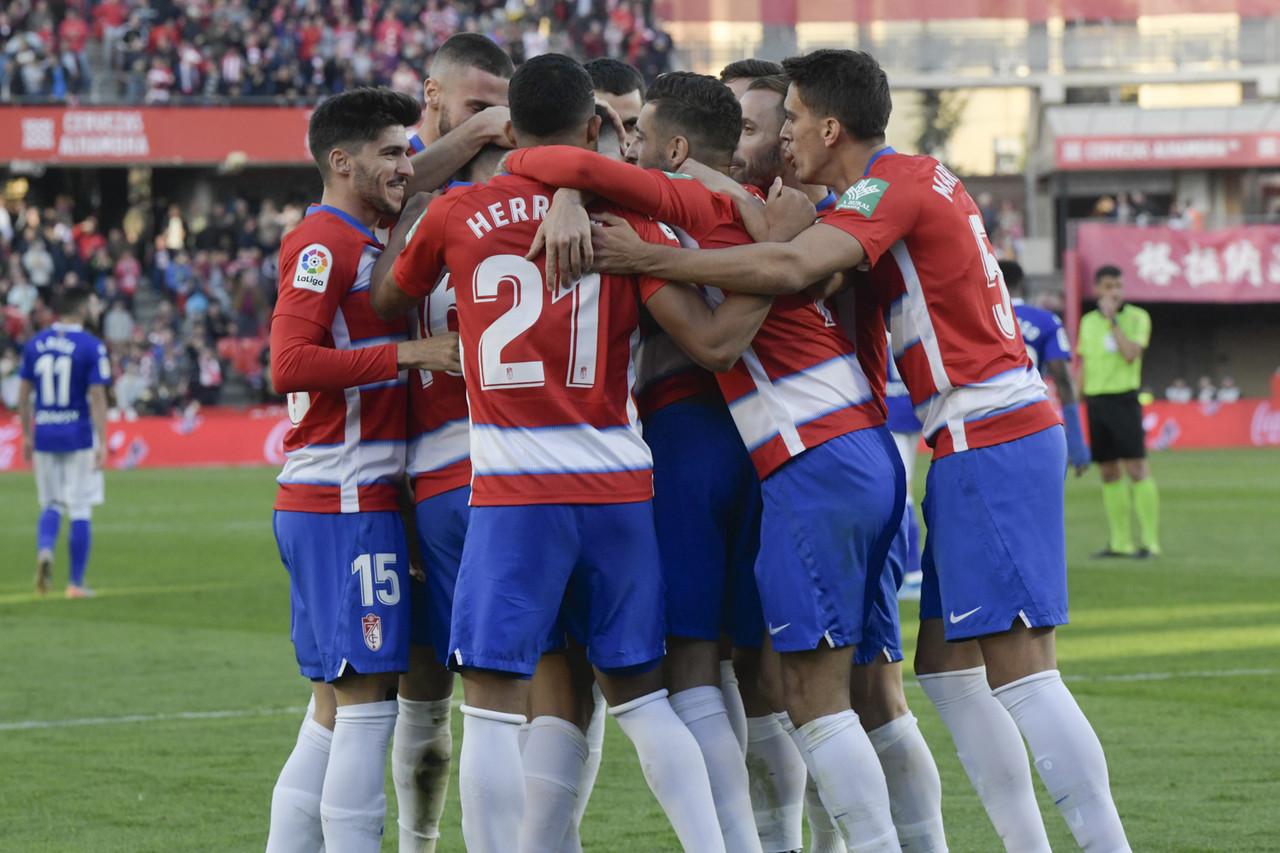 El Granada CF, cuarto equipo más contundente de La Liga