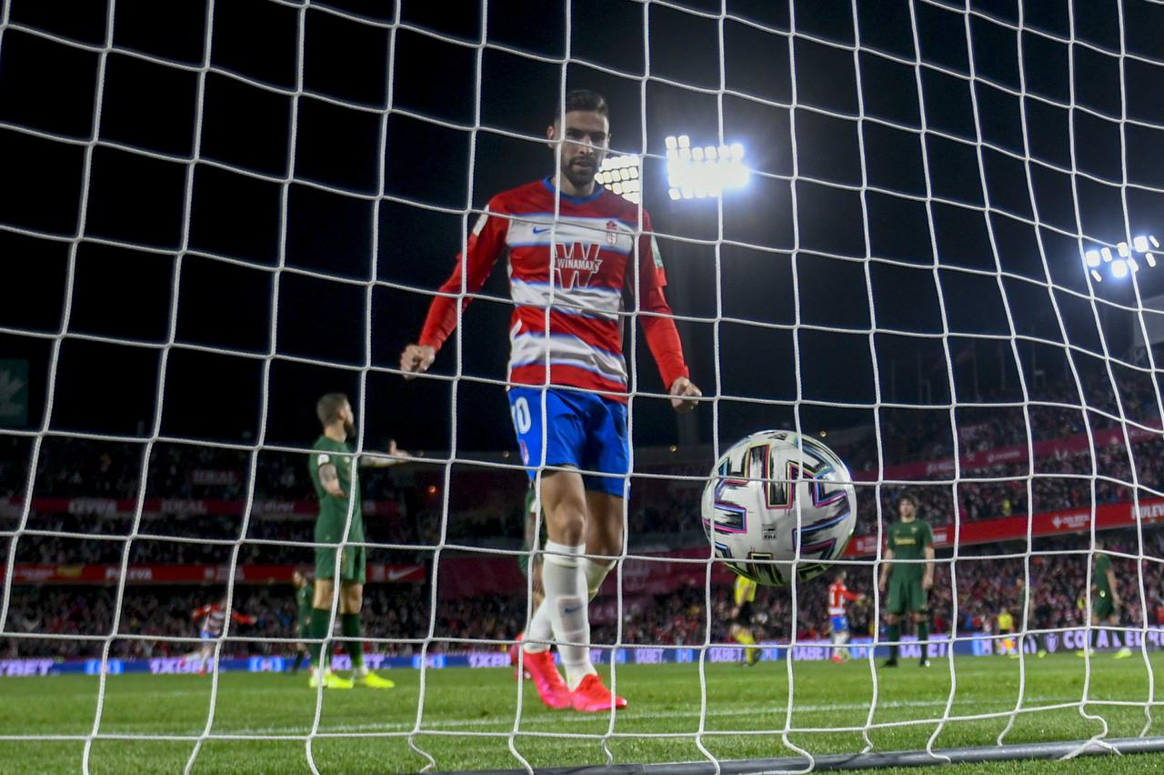 El sueño copero del Granada CF se diluye