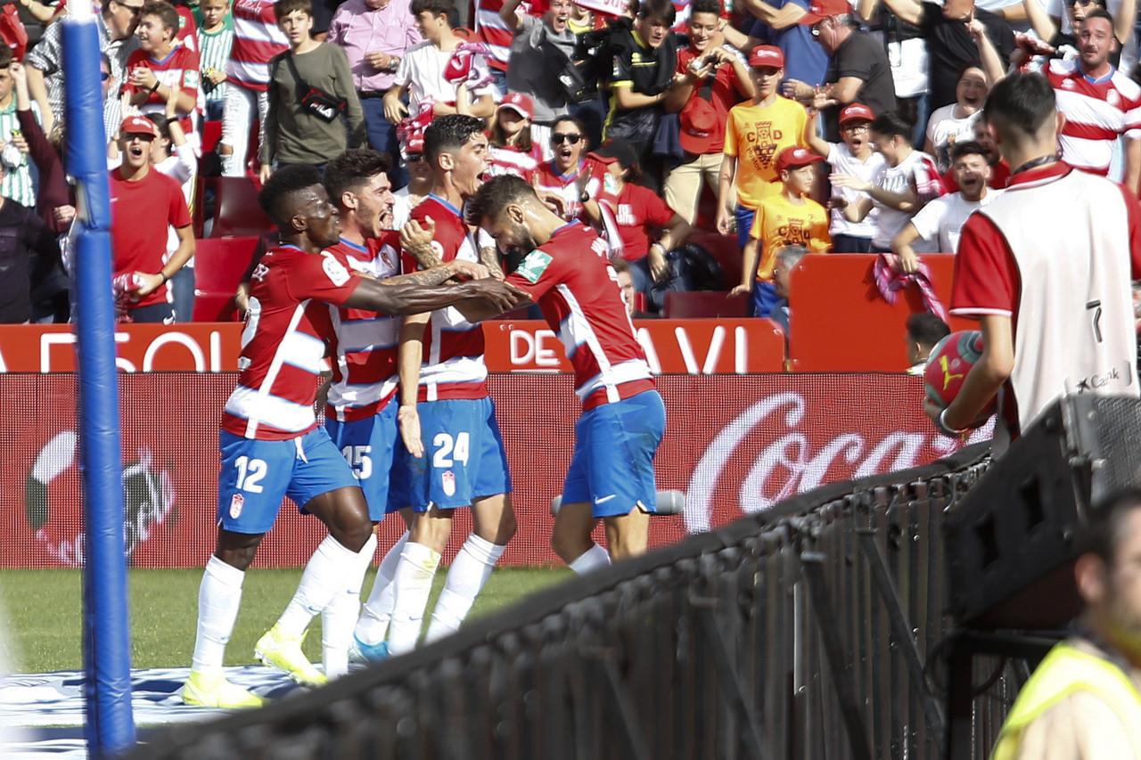 Triunfo de equipo que aúpa al Granada CF al liderato