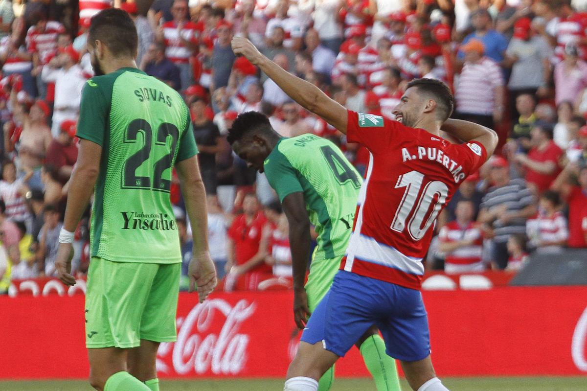 Puertas guía al Granada CF al triunfo contra el Leganés