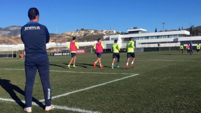 Machís, Menosse y Ramos, ausentes en la vuelta al trabajo del Granada CF