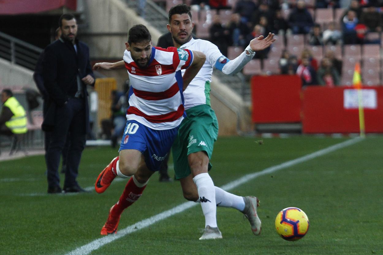 Nueva mediapunta del Granada CF en Lugo
