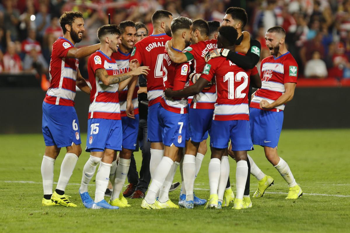 Granada CF - FC Barcelona: puntuaciones del Granada, jornada 5 de La Liga Santander