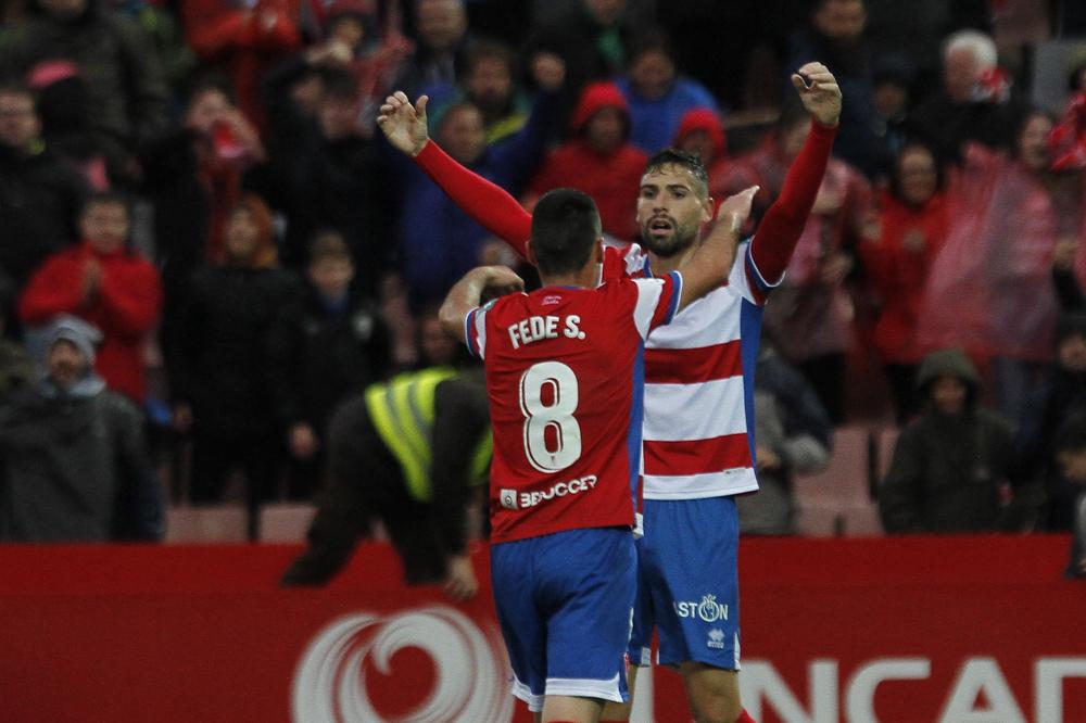 Golpe de autoridad del Granada CF tras doblegar al Málaga CF