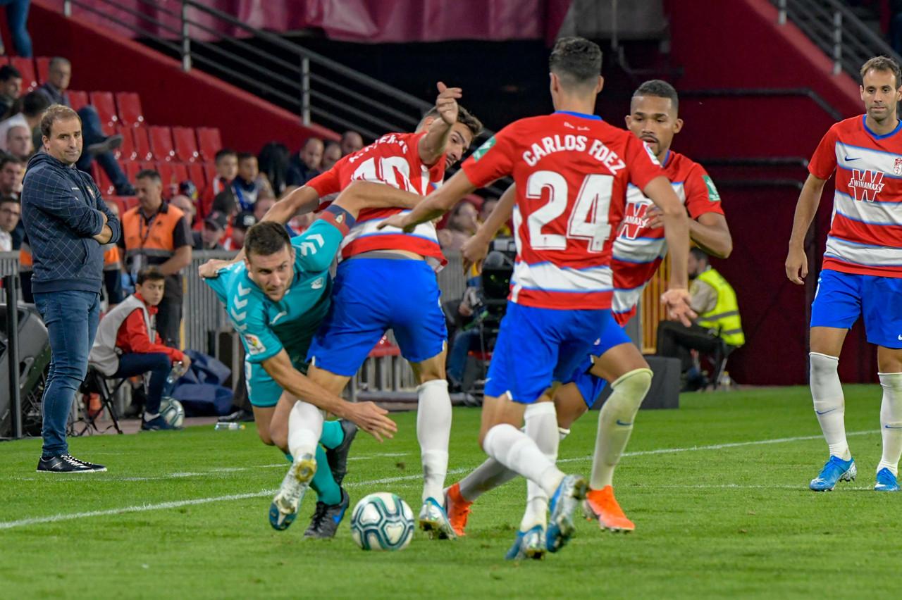 Granada CF - Osasuna: puntuaciones del Granada, jornada 9 de La Liga Santander