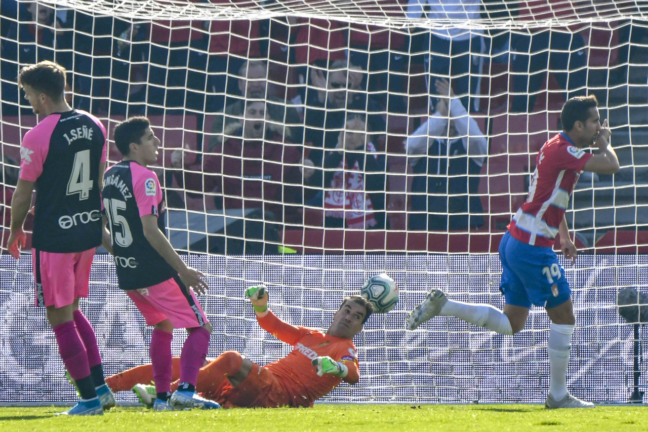 Granada CF - Mallorca: puntuaciones del Granada, jornada 19 de La Liga Santander
