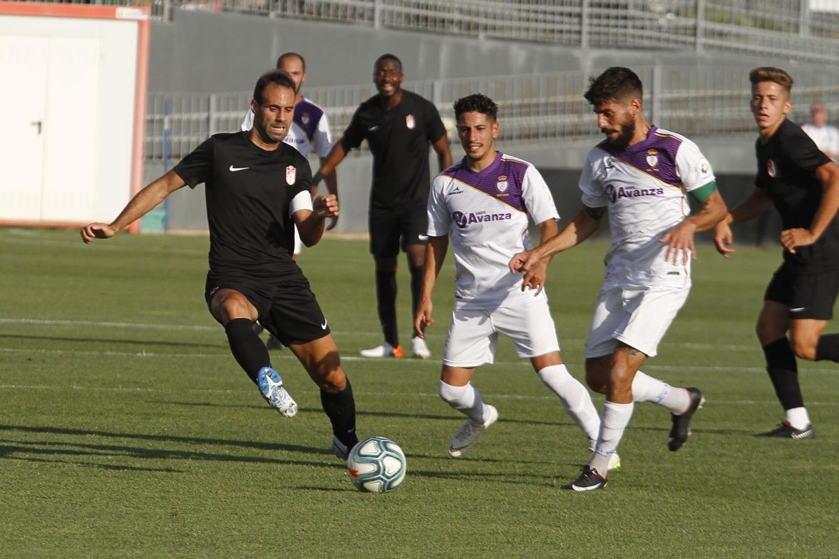 El Granada CF coge ritmo frente al Jaén