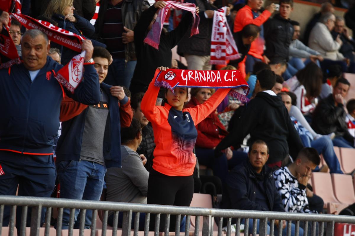 Las entradas para el Granada CF - Sporting de Gijón, desde 17 euros