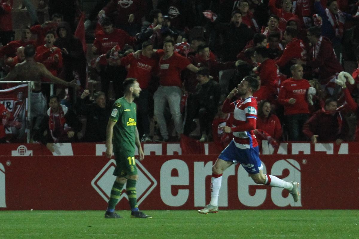 Casta y fe del Granada CF para rescatar un punto ante Las Palmas