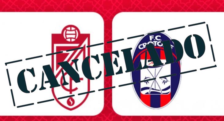 Cancelado el amistoso entre el Granada CF y el Crotone