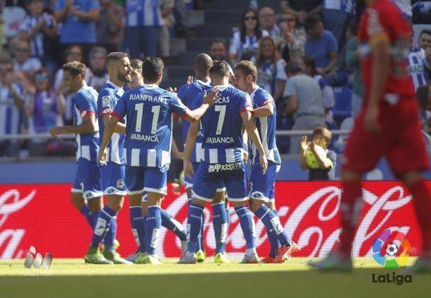 Los números de la jornada: Granada - Deportivo