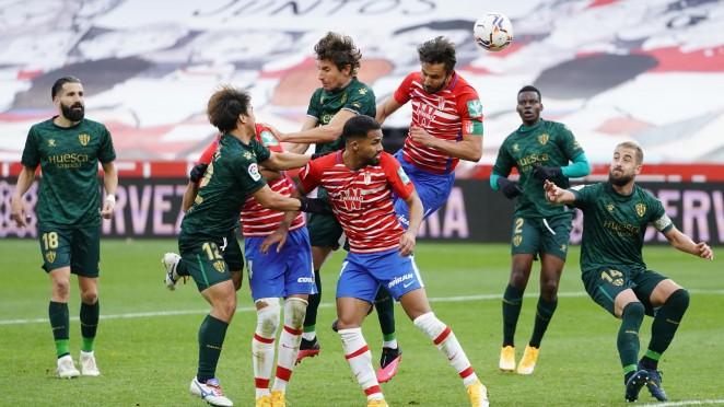 Previa SD Huesca - Granada CF: a revertir la dinámica