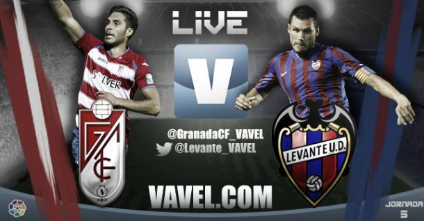 Granada vs Levante en vivo y en directo online