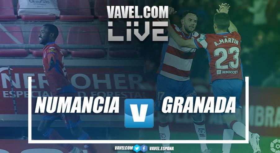 Resumen Numancia 2-1 Granada CF en Segunda División 2019
