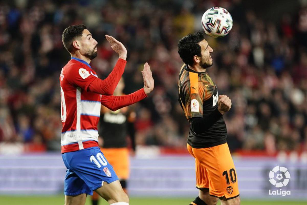 Los goles desde fuera del área, punto débil para el Granada CF
