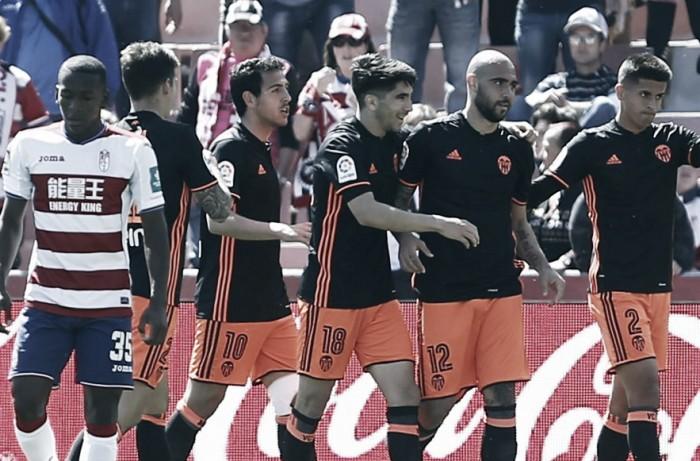 Liga - Zaza trascina il Valencia, tutto facile sul campo del Granada (1-3)