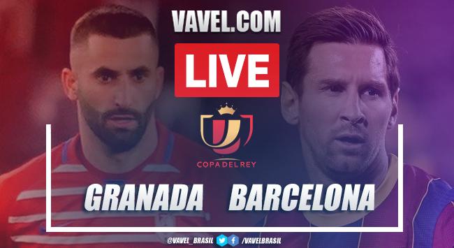 Gols e melhores momentos de Granada x Barcelona (3-5)