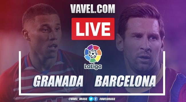 Gols e melhores momentos Granada 0x4 Barcelona pela LaLiga