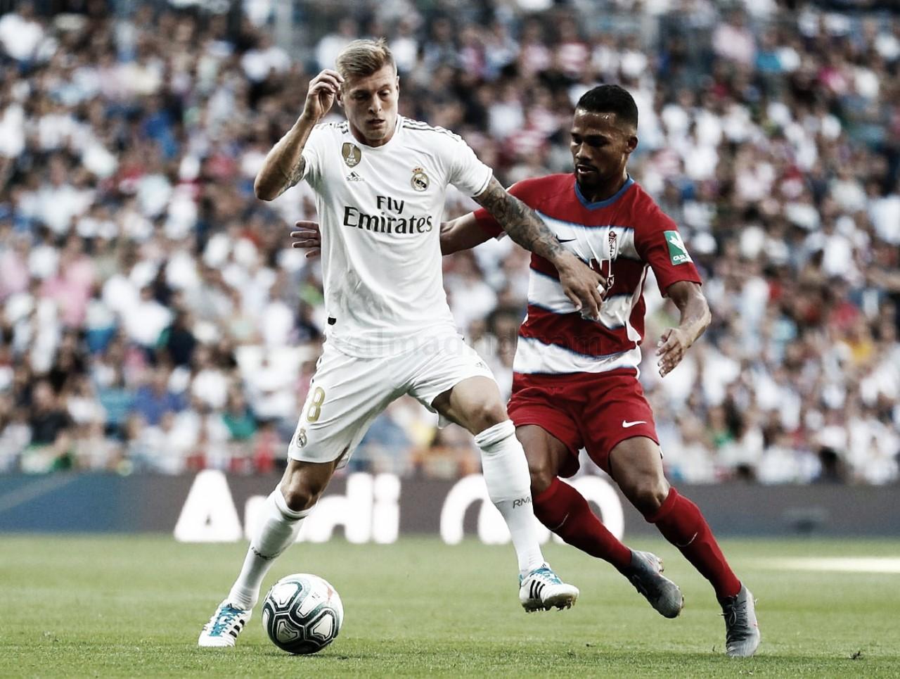 Horario y donde ver el Real Madrid – Granada