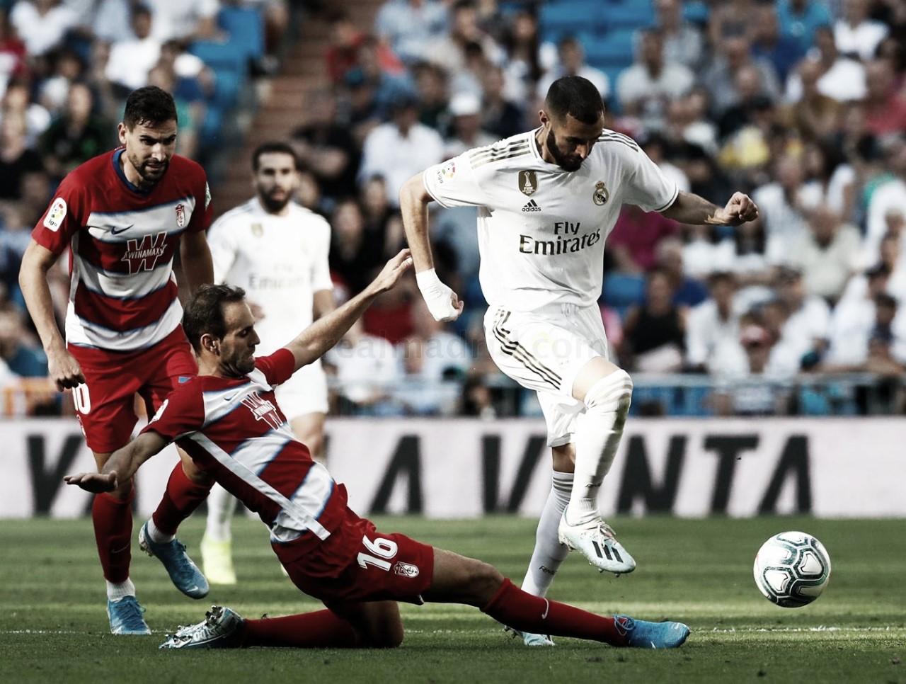 Resumen Real Madrid vs Granada en LaLiga 2020 (2-0)