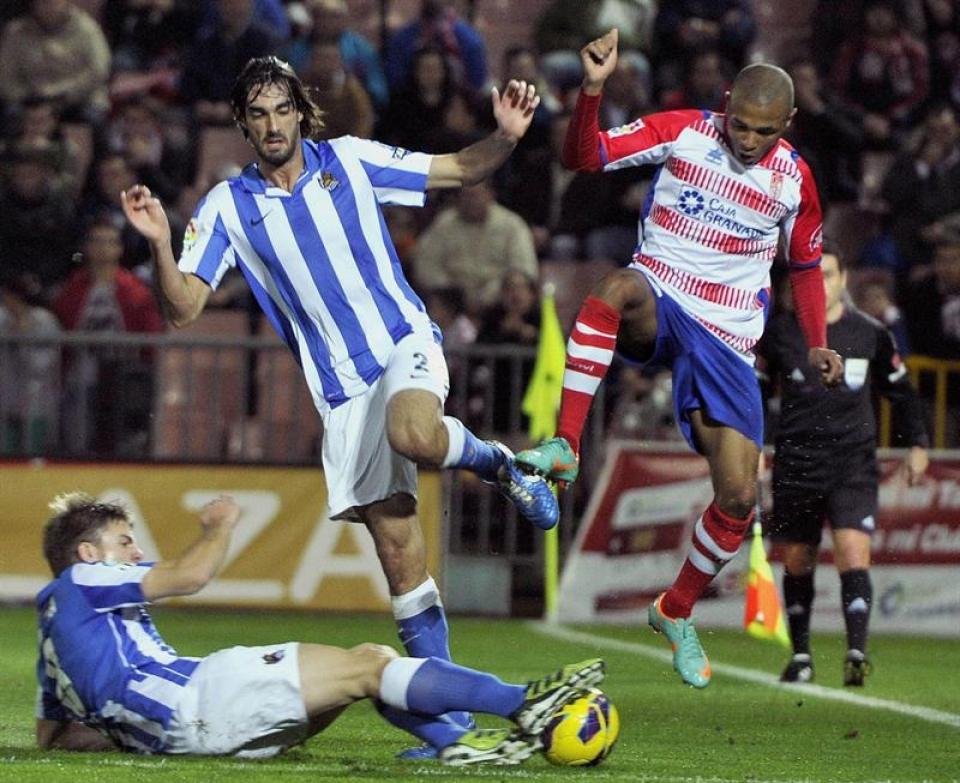 Granada-Real Sociedad: puntuaciones de la Real Sociedad, jornada 16