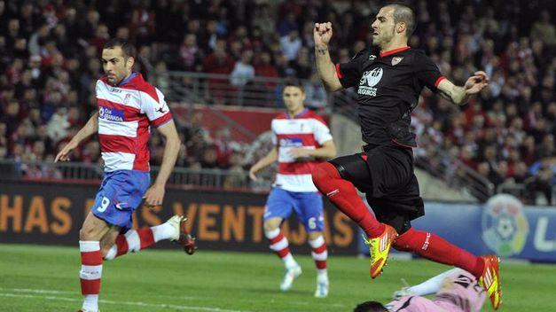 Granada-Sevilla: una pelea por diferentes ligas