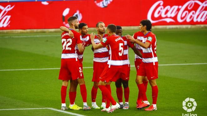 Los goleadores del Granada CF de esta histórica temporada