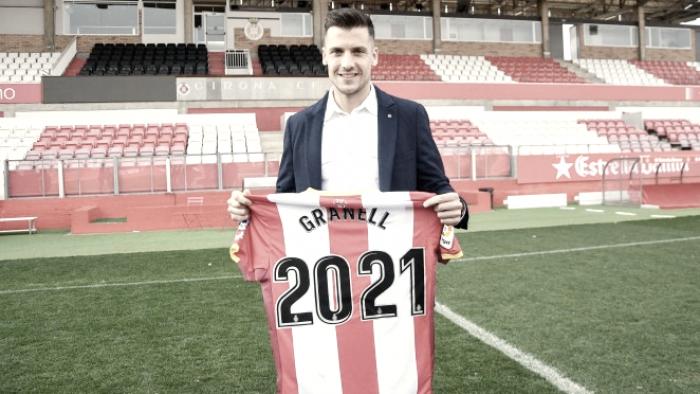 """Àlex Granell: """"Nada me gustaría más que llevar al Girona a jugar por Europa"""""""